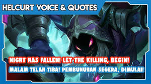helcurt voice quotes terjemahan by arvino vins