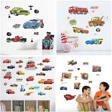 Disney Cars Wall Stickers For Kids Rooms Home Decor Cartoon Lightning Mcqueen Wall Decals Diy Mural Art Pvc Posters Decoration Aliexpress