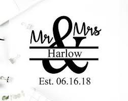 Mr And Mrs Vinyl Etsy