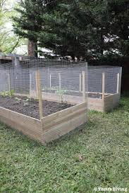 How To Build A Raised Garden Bed Protected With A Metal Fence After Build From Cedar Building A Raised Garden Building Raised Garden Beds Diy Raised Garden