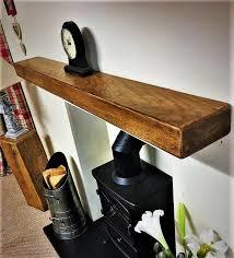 oak beam for fireplace 90 cm x 20 cm