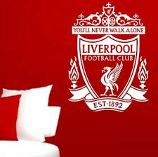 Liverpool Football Club Wall Art Sticker Vinyl Decal Various Sizes Sticker Wall Art Sticker Art Logo Wall