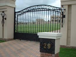 Wrought Iron Driveway Gate Xpanda Security