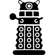 Dalek Front Vinyl Decal