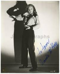 """Wanda McKay - Classic Actress - Autographed Vintage Photograph - """"To Tom    #503575355"""