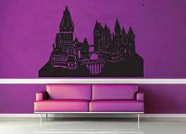 Hogwarts Castle Harry Potter Wall Decal No 3 Geekerymade