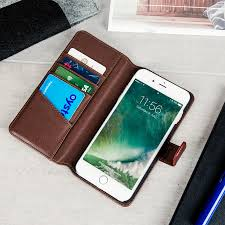 genuine leather iphone 7 plus wallet