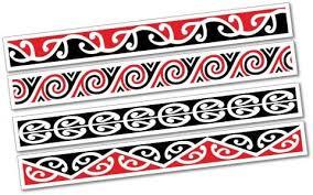 Amazon Com Maori Kowhaiwhai Pattern Strips Sticker New Zealand Nz Kiwi Car Fern Automotive