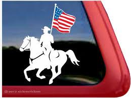 Equestrian Drill Team Horse Stickers Decals Nickerstickers