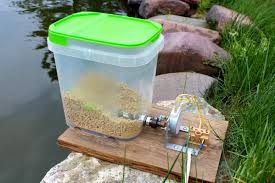 automatic pet feeder 6 steps with