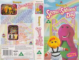 Opening To Barney's Sense-Sational Day 1998 UK VHS (Disney Videos ...