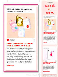 cosmopolitan eau de juice fragrances