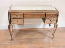 mirrored desk bureau plat writing table