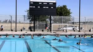 Splash down! Modesto's Enochs High School pool opens - YouTube