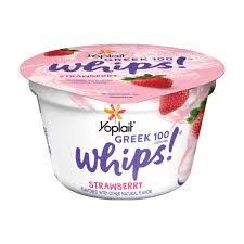 greek whips strawberry yoplait