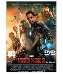 iron man 3 dvd hindi