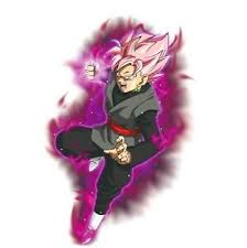 Dragon Ball Goku Black Rose Power Up 2 6 Vinyl Decal Stickers Ebay