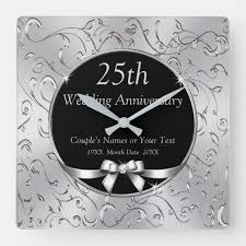 silver 25th wedding anniversary gifts