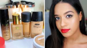 top 5 foundations for indian skin tone