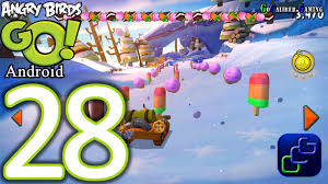 Angry Birds GO Android Walkthrough - Part 28 - Sub Zero Track 1 ...