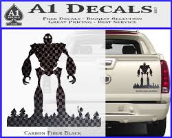 Iron Giant Decal Sticker A1 Decals