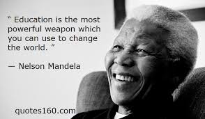 quotes nelson mandela on education quotes quotesgram