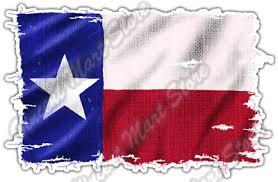 Burlap Texas Flag Texan Usa United States Car Bumper Vinyl Sticker Decal 5 X4 3 50 Picclick