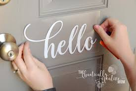 Contact Support In 2020 Hello Decal Diy Cricut Creative Mom