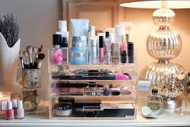how to organize your makeup skincare