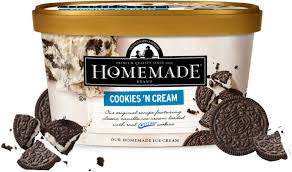 homemade brand ice cream