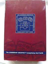 leadership architect petency sort