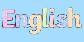 👉 English with Letters Title Display Lettering