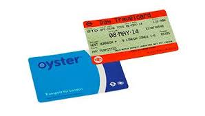 london travelcard or oyster identify