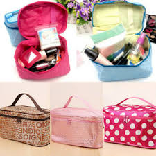 lunch box makeup toiletry case pouch
