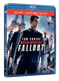 Mission: Impossible Fallout (Blu-Ray) (2 Dischi): Amazon.it: Tom ...