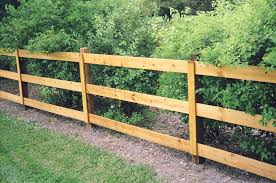 Residential Post Rail Fences Installation Repair