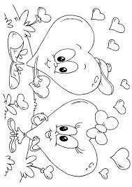 Kleurplaat Hartjes Valentijn Gratis Kleurplaten Om Te Printen En