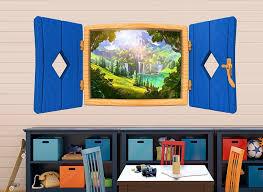 Fairy Tale Window Wall Decal