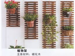 indoor and outdoor wall plant stand can