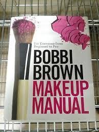 signed bobbi brown makeup manual for