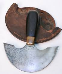 c s osborne leather knife