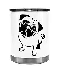 Tumbler Cliffbennett Pug Dog Sad Decal Window Walls Women Men Die Cut Vinyl Car Decal Sticker For Car Laptop Truck Sticker Kids Itrainkids Com