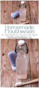 diy homemade mouthwash oh the things
