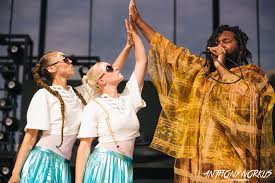 Tunde Olaniran dancer Aurora Lewis revels in 'surreal' stage spectacles
