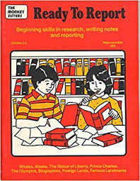 Ready to Report: Begining Skills in Research, Writing Notes and Reporting,  Grades 3-6: Ellen Sussman, Priscilla Burns: 9780933606661: Amazon.com: Books