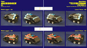 Reprolabels Popy Dairugger Dx Matchbox Vehicle Voltron I Robot Japan