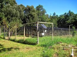 Solar Powered Electric Fence Kit For Garden Garden Design Ideas