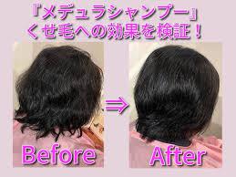 メデュラシャンプー「くせ毛」への効果を、現役美容師が画像付きで実証 ...