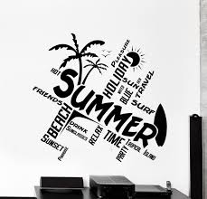 How To Make Vinyl Decals At Home Wall Vinyl Decal Quotes Word Cloud Summer Travel Beach Surf Equalmarriagefl Vinyl From How To Make Vinyl Decals At Home Pictures