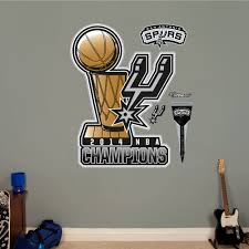 Shop Fathead San Antonio Spurs 2014 Champs Wall Decal Overstock 9191038